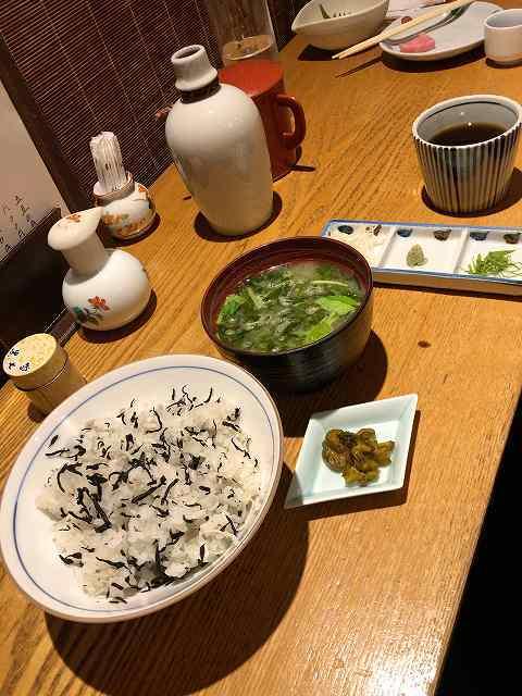 じゃこご飯とアオサ味噌汁1.jpg