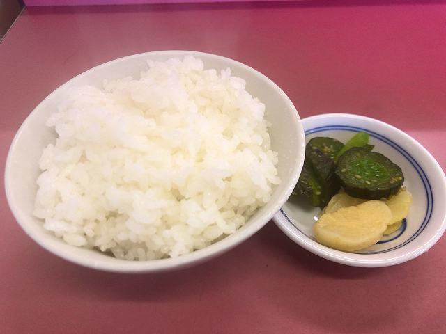 半ご飯&タクアン&キューちゃん.jpg