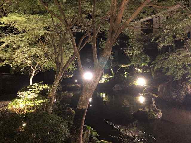 夜13池の端から船山館1.jpg