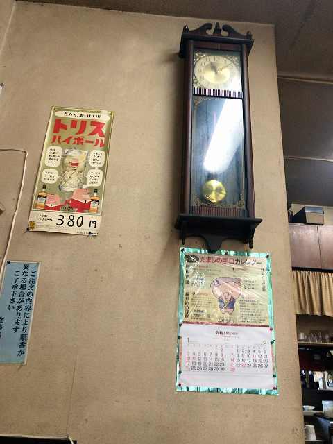 店内6柱時計.jpg