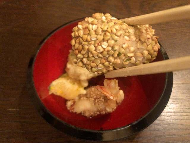揚げ7里芋と蕎麦実.jpg