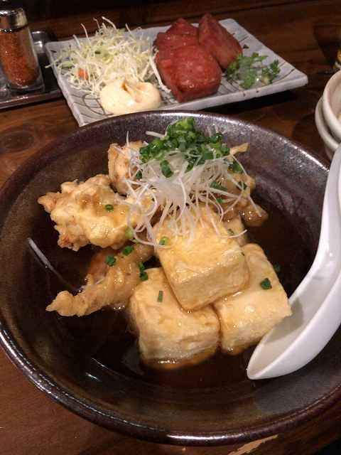 揚げ出汁豆腐&鶏天1.jpg