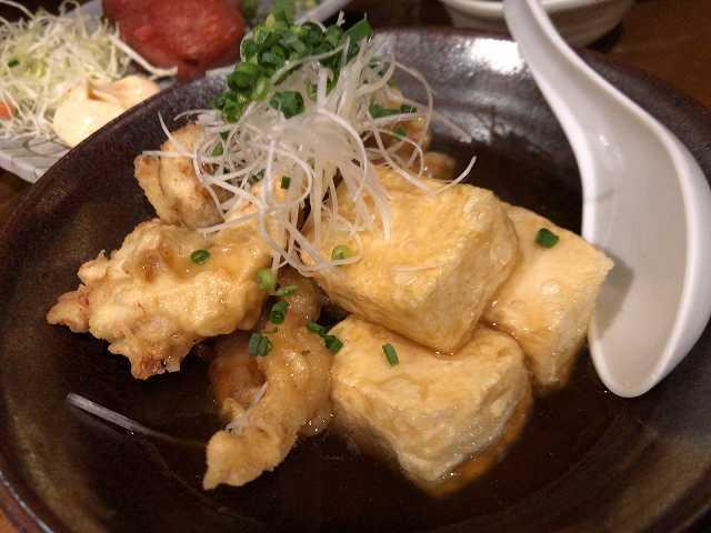 揚げ出汁豆腐&鶏天2.jpg