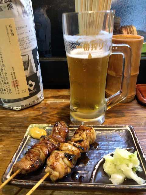 最初はビール&鶏ネギ&肩ロース1.jpg