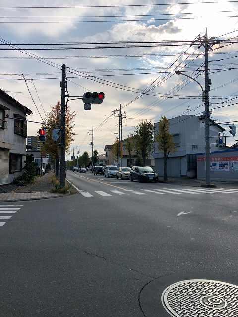 本庄市内の県道を歩く.jpg