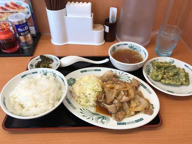 生姜焼1竹輪1.jpg