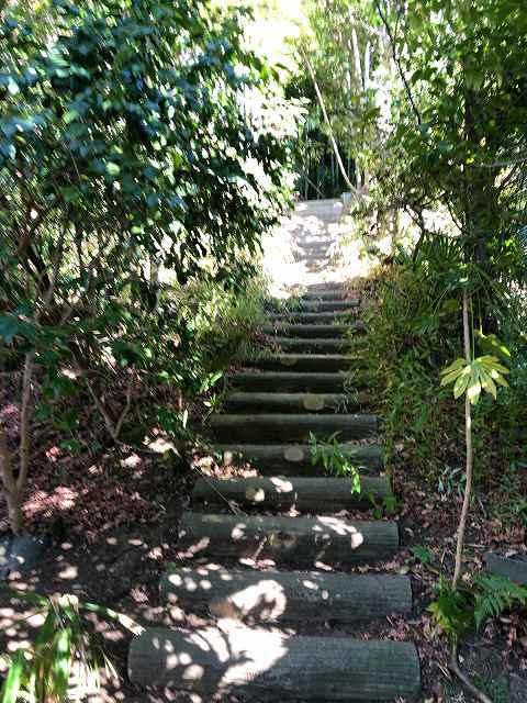 登城口8階段を登る1.jpg