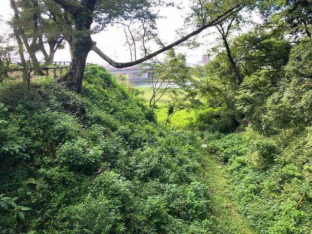 祇園城3大空堀1.jpg