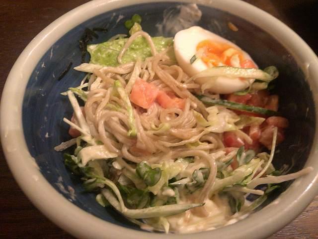 蕎麦サラダ4和え蕎麦の様相を呈してきた.jpg