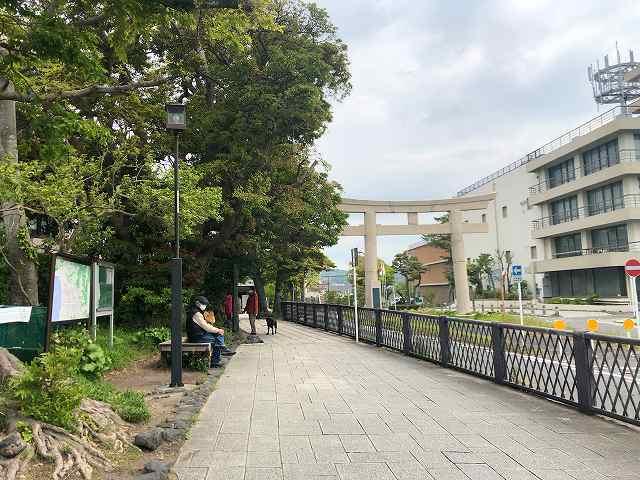 鎌倉1ベンチに老人がいた.jpg