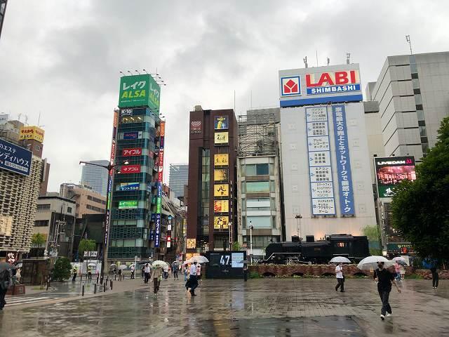 雨の新橋SL広場.jpg